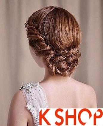Những kiểu tóc tết cô dâu đẹp các sao Hàn Quốc thu đông 2015 - 2016 phần 13