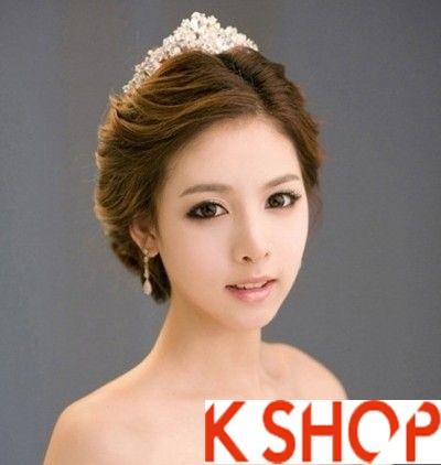 Những kiểu tóc tết cô dâu đẹp các sao Hàn Quốc thu đông 2015 - 2016 phần 15