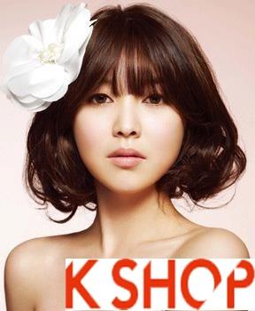 Những kiểu tóc tết cô dâu đẹp các sao Hàn Quốc thu đông 2015 - 2016 phần 16