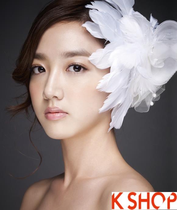 Những kiểu tóc tết cô dâu đẹp các sao Hàn Quốc thu đông 2015 - 2016 phần 22