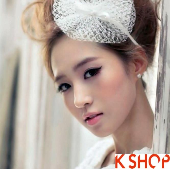 Những kiểu tóc tết cô dâu đẹp các sao Hàn Quốc thu đông 2015 - 2016 phần 23
