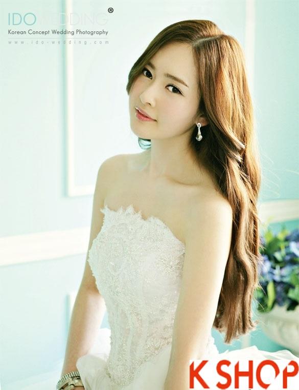 Những kiểu tóc tết cô dâu đẹp các sao Hàn Quốc thu đông 2015 - 2016 phần 24