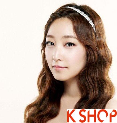 Những kiểu tóc tết cô dâu đẹp các sao Hàn Quốc thu đông 2015 - 2016 phần 4