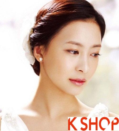 Những kiểu tóc tết cô dâu đẹp các sao Hàn Quốc thu đông 2015 - 2016 phần 5