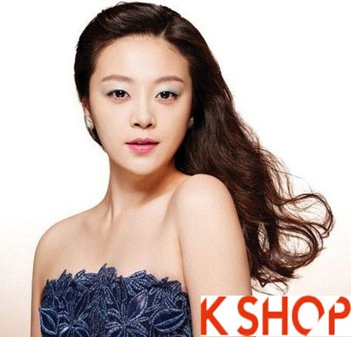 Những kiểu tóc tết cô dâu đẹp các sao Hàn Quốc thu đông 2015 - 2016 phần 6