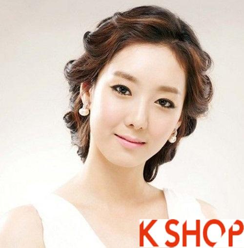 Những kiểu tóc tết cô dâu đẹp các sao Hàn Quốc thu đông 2015 - 2016 phần 9