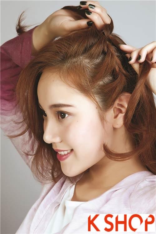 Tóc tết Hàn Quốc đẹp 2016 trẻ trung xinh xắn bạn gái nên biết phần 2