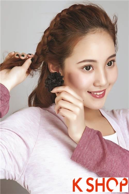 Tóc tết Hàn Quốc đẹp 2016 trẻ trung xinh xắn bạn gái nên biết phần 3