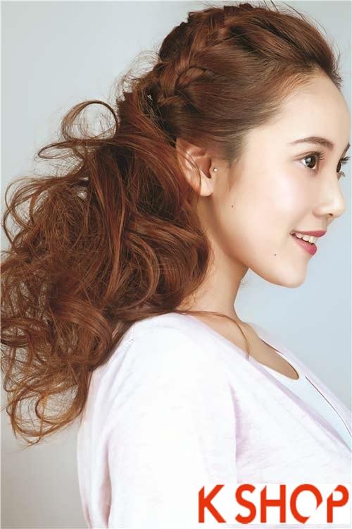 Tóc tết Hàn Quốc đẹp 2016 trẻ trung xinh xắn bạn gái nên biết phần 8