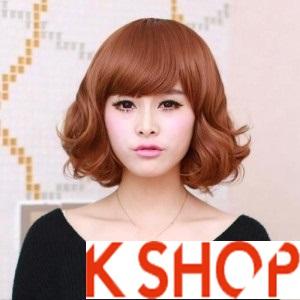 Tạo kiểu tóc ngắn uốn xoăn Hàn Quốc tuyệt đẹp ngang vai 2015 cho cô nàng thêm trẻ trung xinh xắn phần 4
