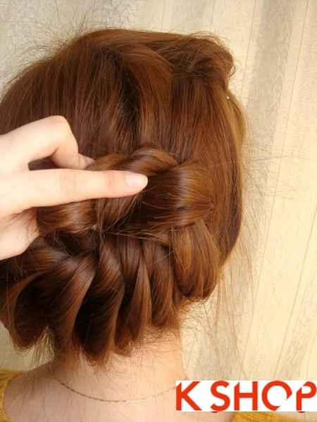 Tết tóc đuôi tôm uốn ngược Hàn Quốc đẹp 2016 dễ làm tại nhà phần 14