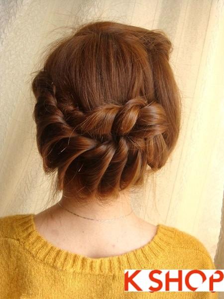 Tết tóc đuôi tôm uốn ngược Hàn Quốc đẹp 2016 dễ làm tại nhà phần 15