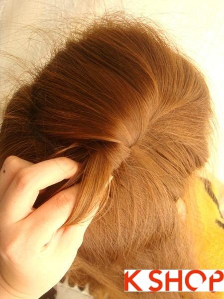 Tết tóc đuôi tôm uốn ngược Hàn Quốc đẹp 2016 dễ làm tại nhà phần 3