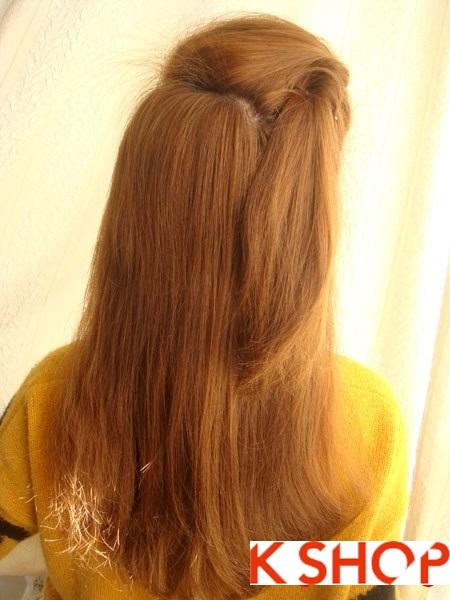 Tết tóc đuôi tôm uốn ngược Hàn Quốc đẹp 2016 dễ làm tại nhà phần 5