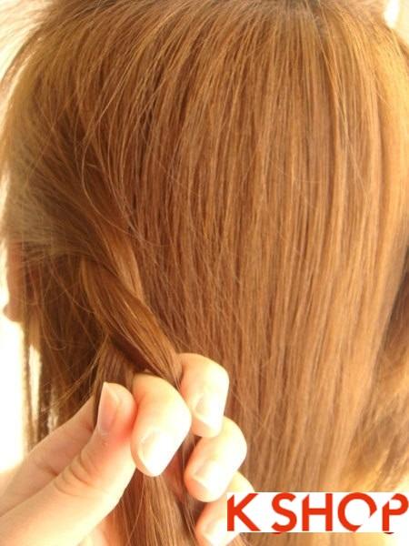Tết tóc đuôi tôm uốn ngược Hàn Quốc đẹp 2016 dễ làm tại nhà phần 7