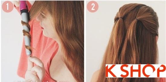 Cách tết tóc kiểu Hàn Quốc đẹp 2016 hình trái tim dễ thương tại nhà phần 1