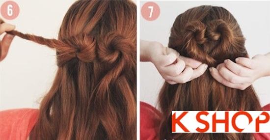 Cách tết tóc kiểu Hàn Quốc đẹp 2016 hình trái tim dễ thương tại nhà phần 4