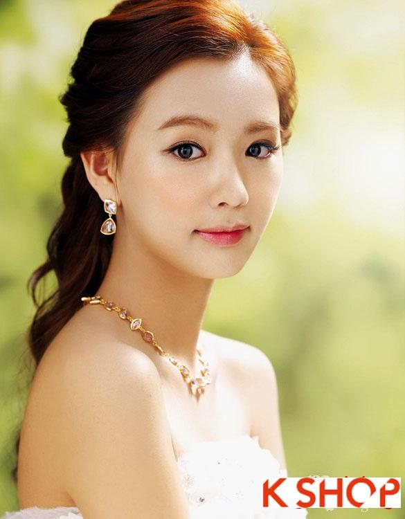 Tóc cưới cô dâu Hàn Quốc đẹp 2017 sang trọng đầy quyến rũ phần 2