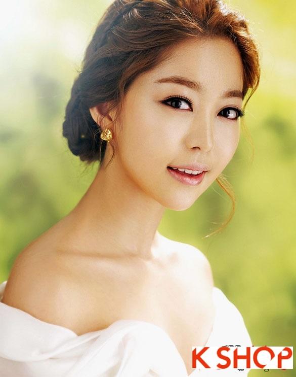 Tóc cưới cô dâu Hàn Quốc đẹp 2017 sang trọng đầy quyến rũ phần 3