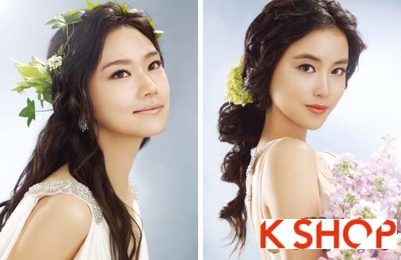 Tóc cưới cô dâu Hàn Quốc đẹp 2017 sang trọng đầy quyến rũ phần 4
