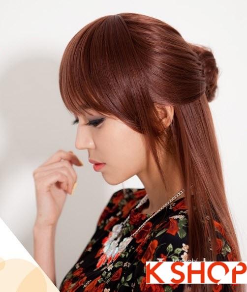 Tóc dài duỗi thẳng Hàn Quốc tuyệt đẹp 2015 cho cô nàng đầy quyến rũ gợi cảm nên biết trong mùa thời trang tóc này PHẦN 2