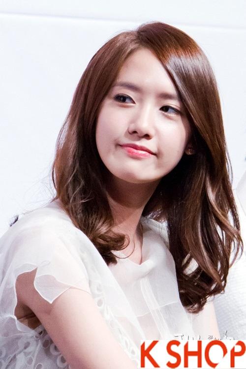 Tóc uốn xoăn Hàn Quốc đẹp hè 2017 cho cô nàng khuôn mặt dài phần 2