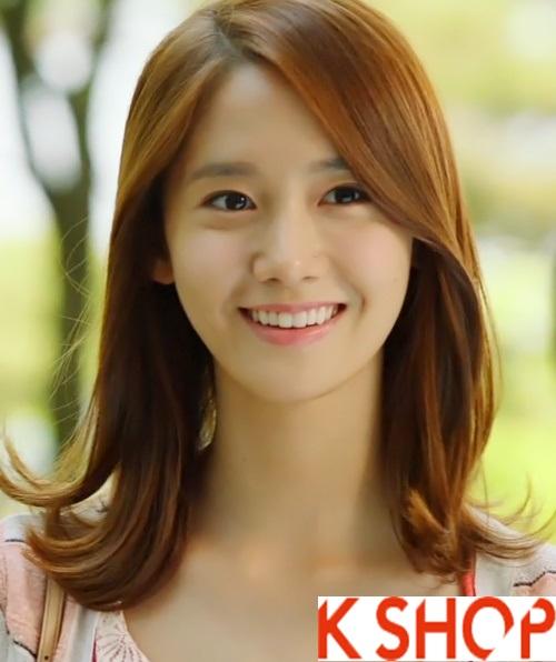 Tóc uốn xoăn Hàn Quốc đẹp hè 2017 cho cô nàng khuôn mặt dài phần 6