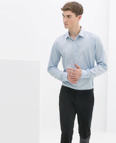 Áo sơ mi nam màu xanh đẹp hè 2017 cho chàng trai công sở mát mẻ phần 11