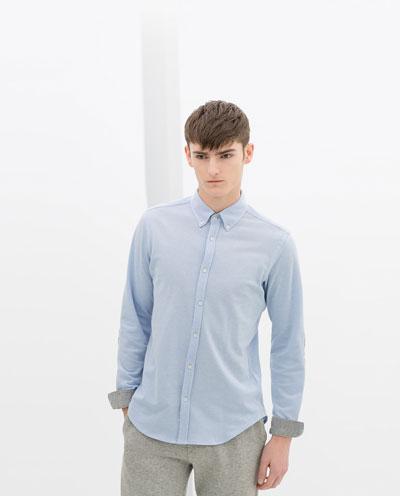 Áo sơ mi nam màu xanh đẹp hè 2017 cho chàng trai công sở mát mẻ phần 4