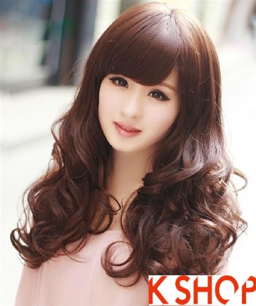 Kiểu tóc xoăn đẹp 2016 phong cách Hàn Quốc cho cô nàng xinh xắn phần 1
