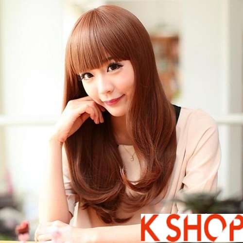 Kiểu tóc xoăn đẹp 2016 phong cách Hàn Quốc cho cô nàng xinh xắn phần 2