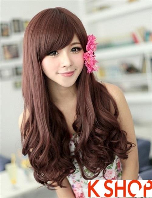 Kiểu tóc xoăn đẹp 2016 phong cách Hàn Quốc cho cô nàng xinh xắn phần 5