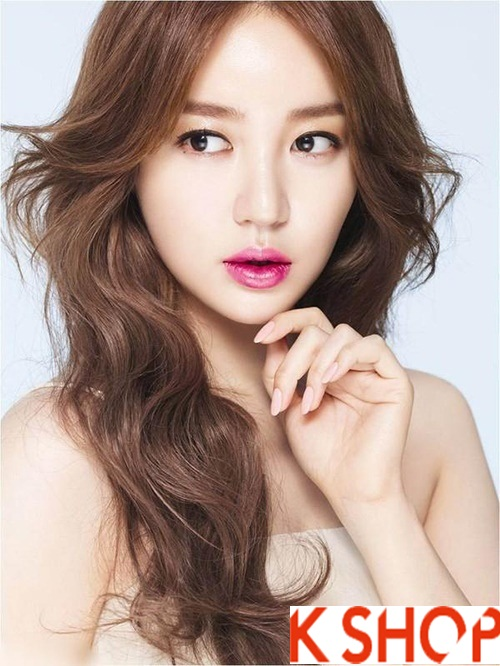 Kiểu tóc xoăn đẹp 2016 phong cách Hàn Quốc cho cô nàng xinh xắn phần 6
