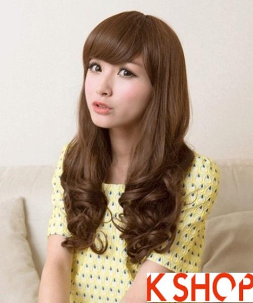 Kiểu tóc xoăn đẹp 2016 phong cách Hàn Quốc cho cô nàng xinh xắn phần 7