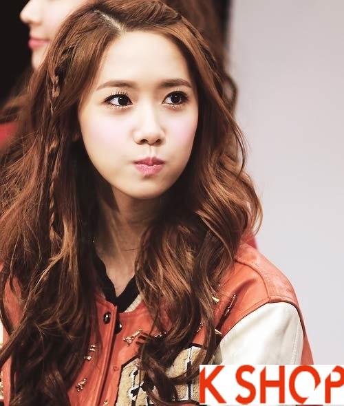 Kiểu tóc xoăn đẹp 2016 phong cách Hàn Quốc cho cô nàng xinh xắn phần 8