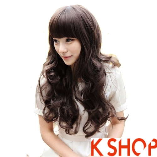 Kiểu tóc xoăn đẹp 2016 phong cách Hàn Quốc cho cô nàng xinh xắn phần 9