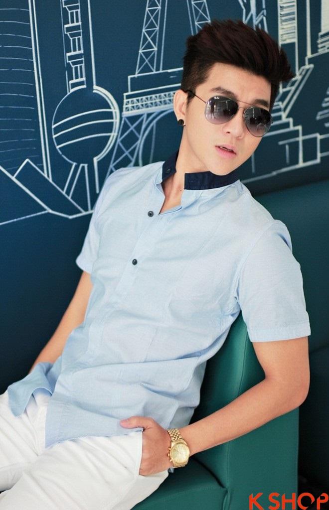 Áo sơ mi nam Hàn Quốc đẹp cho chàng trai trẻ trung cực chất nhất hè 2017 phần 2