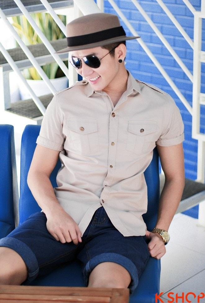 Áo sơ mi nam Hàn Quốc đẹp cho chàng trai trẻ trung cực chất nhất hè 2017 phần 3