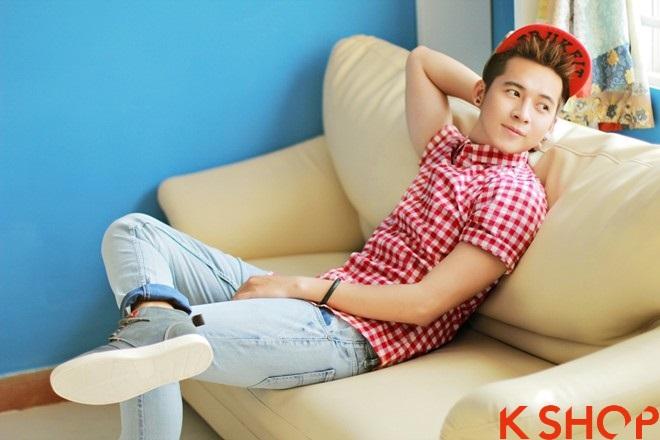 Áo sơ mi nam Hàn Quốc đẹp cho chàng trai trẻ trung cực chất nhất hè 2017 phần 9