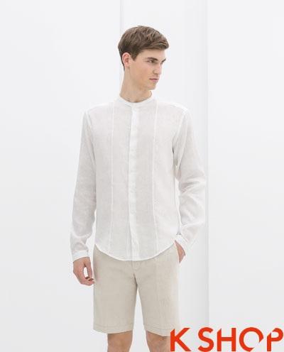 Áo sơ mi nam trắng đẹp hè 2017 cho chàng trai đến công sở trẻ trung phần 12