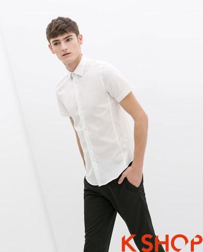 Áo sơ mi nam trắng đẹp hè 2017 cho chàng trai đến công sở trẻ trung phần 8