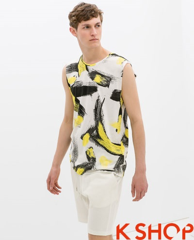 Áo tanktop nam đẹp xu hướng thời trang hè 2017 cá tính năng động phần 7
