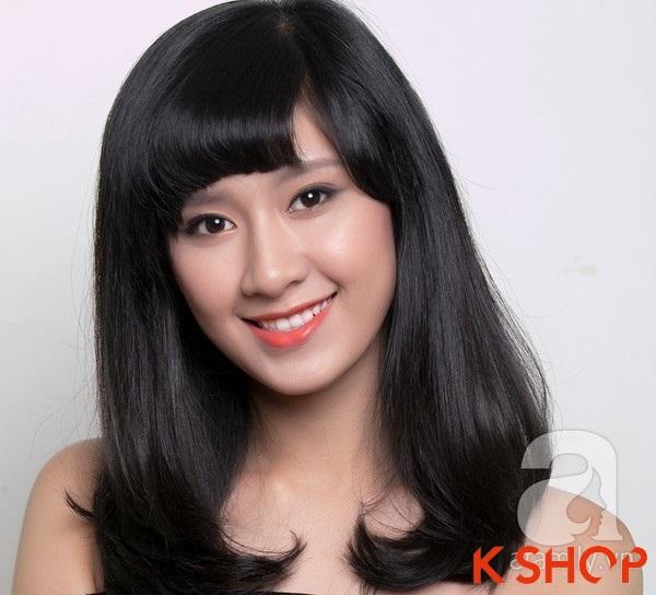 3 Kiểu tóc dài ngang vai Hàn Quốc đẹp cho bạn gái dịu dàng 2016 phần 1