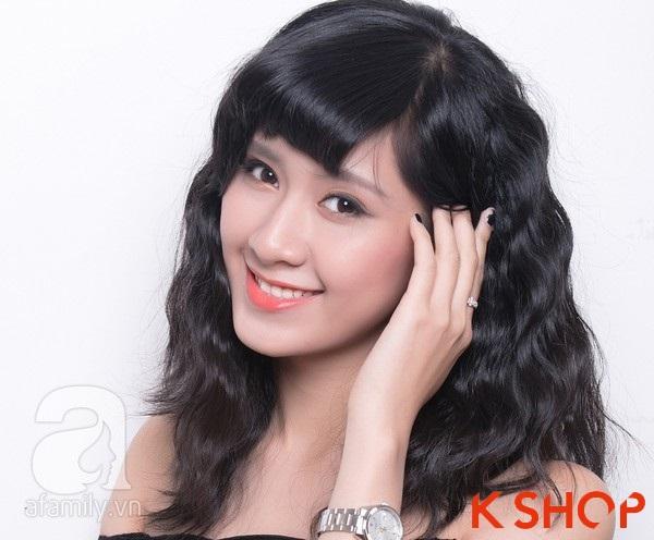 3 Kiểu tóc dài ngang vai Hàn Quốc đẹp cho bạn gái dịu dàng 2016 phần 10