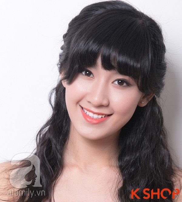3 Kiểu tóc dài ngang vai Hàn Quốc đẹp cho bạn gái dịu dàng 2016 phần 11