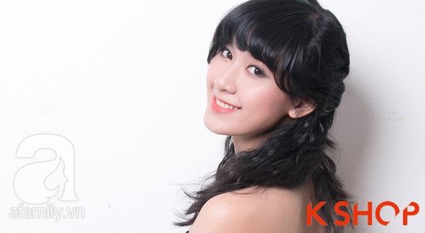 3 Kiểu tóc dài ngang vai Hàn Quốc đẹp cho bạn gái dịu dàng 2016 phần 12