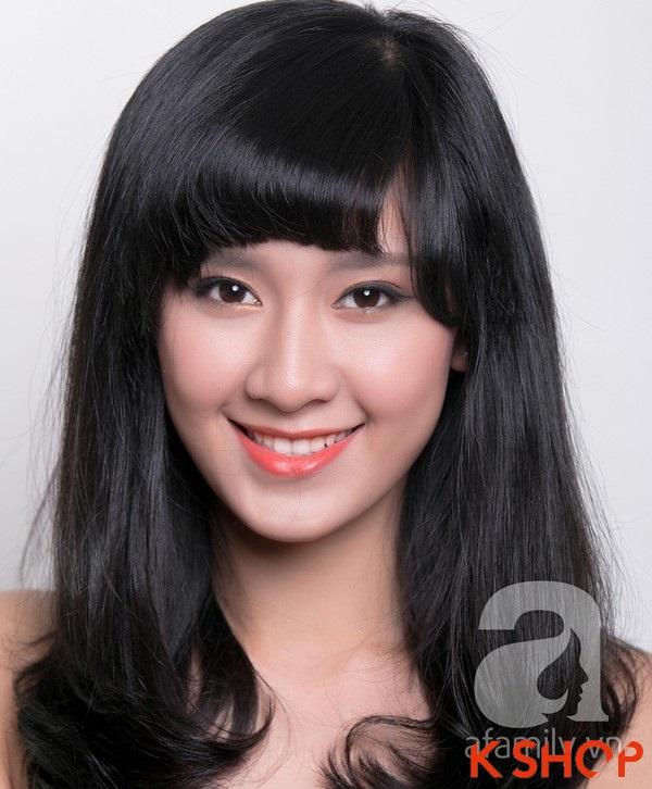 3 Kiểu tóc dài ngang vai Hàn Quốc đẹp cho bạn gái dịu dàng 2016 phần 2