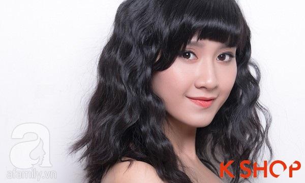 3 Kiểu tóc dài ngang vai Hàn Quốc đẹp cho bạn gái dịu dàng 2016 phần 3
