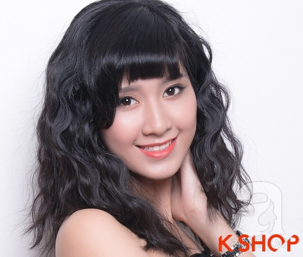 3 Kiểu tóc dài ngang vai Hàn Quốc đẹp cho bạn gái dịu dàng 2016 phần 4