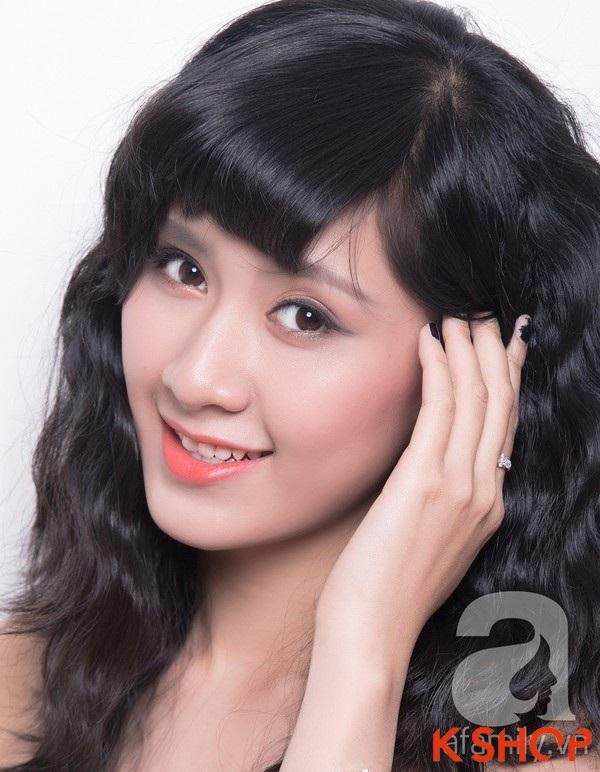 3 Kiểu tóc dài ngang vai Hàn Quốc đẹp cho bạn gái dịu dàng 2016 phần 5
